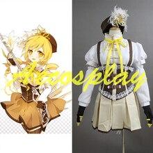 2016 Nuevo Japonés Puella Magi Madoka Magica Anime Ropa Cosplay Costume Set Completo