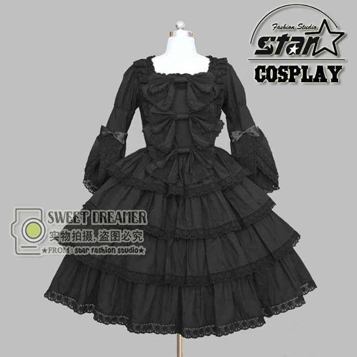 Princess Cosplay Costume For Girl Lolita Dress Vintage Medieval Gothic Dress Children Kids Girl Halloween Party Dress Princess Cosplay Costume Costumes For Girlsdress Children Aliexpress