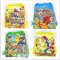 Bola Pokemon Pikachu Cartoon Kids Morral del Lazo Comercial Escuela Viajan Bolsos de Fiesta de Regalos de Cumpleaños