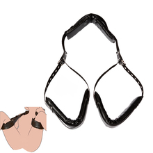 Adjustable Restraint Bandage Neck Handcuff Cuffs Wrist Tied Hand Sex Strap and Leg strap Adult Exotic Accessories for Couples