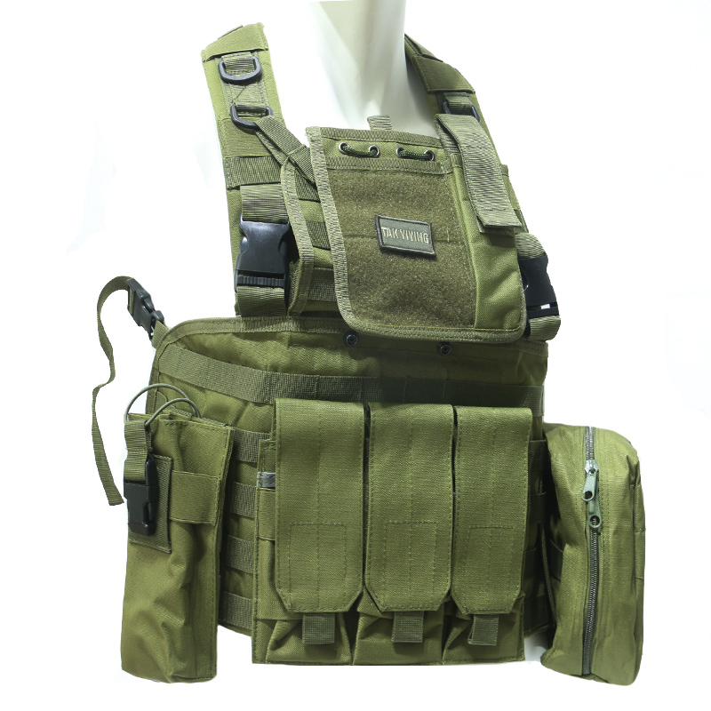 TAK YIYING Camouflage Hunting Military Tactical Vest Wargame Body Molle Armor Hunting Vest CS Outdoor Jungle Equipment