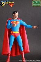 Crazy Toys DC Comics Super Hero Figure Justice League Superman Action Figure Toy Doll 30cm