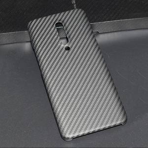 Image 1 - ENMOV ريال ألياف الكربون الحال بالنسبة OnePlus 7 برو كيفلر ماتي حماية ل One Plus 7 برو غطاء حماية إطارات دراجة تسلق الجبال خفيفة الوزن رقيقة