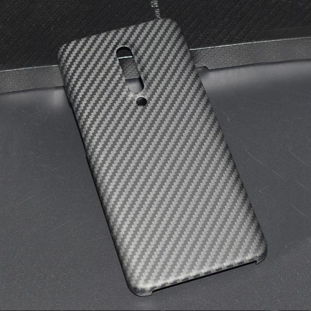 ENMOV ريال ألياف الكربون الحال بالنسبة OnePlus 7 برو كيفلر ماتي حماية ل One Plus 7 برو غطاء حماية إطارات دراجة تسلق الجبال خفيفة الوزن رقيقة