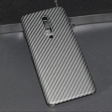 ENMOV için Gerçek Karbon Fiber Kılıf OnePlus 7 Pro Kevlar Mat Koruma için Bir Artı 7 Pro Kılıfı Süper hafif Ince