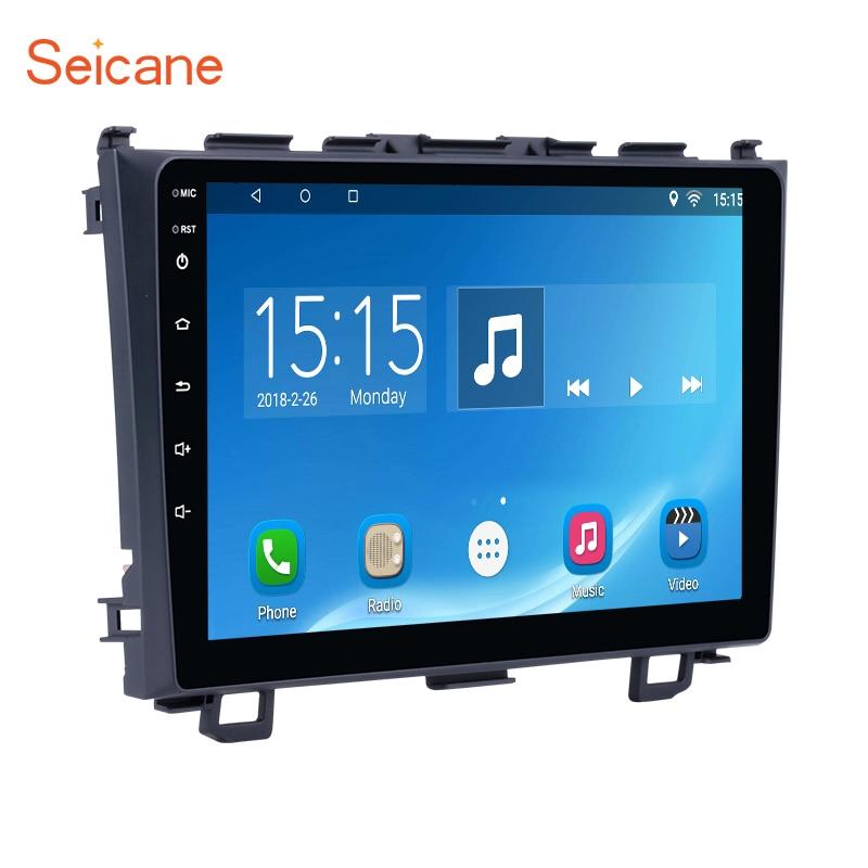 Seicane 9 pouce Android 7.1/Android 6.0 autoradio headunit multimédia magnétophone pour 2006-2011 Honda CRV GPS Navigation Lecteur