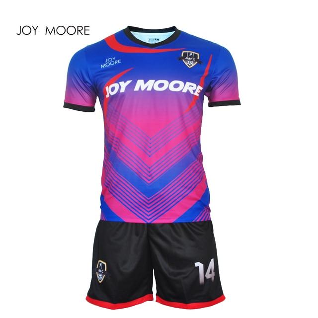 Alta calidad niño niños fútbol Kit 2017 2018 Soccer Jersey Kids traje  equipo entrenamiento personalizado camisetas efeb710de3468