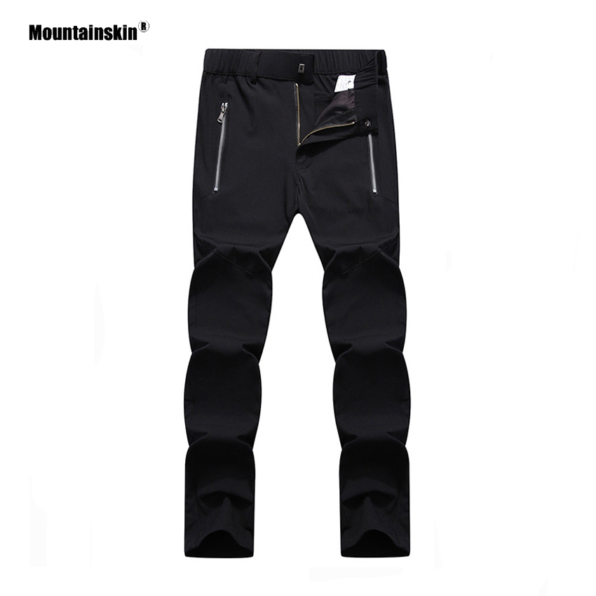 Mountainskin Summer Men's Quick Dry Pants Outdoor Sports Windproof Hiking Camping Fishing Climing Trekking Male Trousers VA386