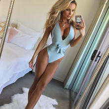 Large Size Swimwear Female Bow 2018 Sexy One Piece Swimsuit Solid May Women Fused Push Up Bather Backless Monokini Beach XXL black 2017 sexy one piece swimsuit solid may women fused push up swimwear female bather bandage brazilian beach monokini