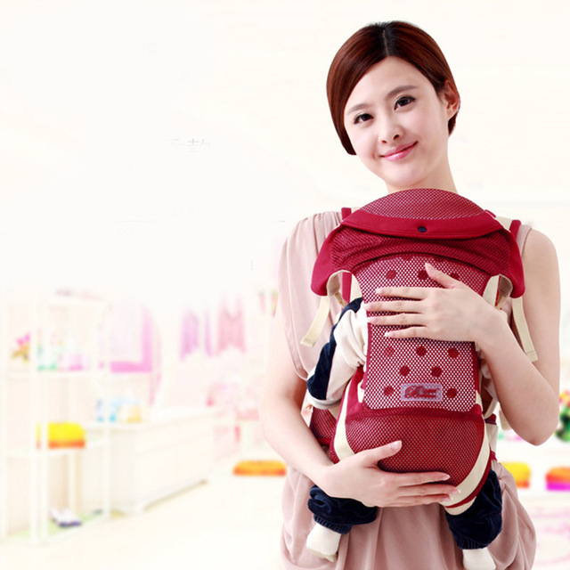 2016 Summer Breathable Multifunctional Baby Carrier Infant Comfortable Sling Backpack Baby Suspenders Baby Care -- MKD011 PT49