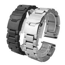 22 mét 24 mét 26 mét Rắn watchband thép không gỉ stainless steel bracelet đồng hồ Phụ Kiện Dây Đeo Đối Với PAM + Công Cụ