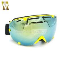 Новый Открытый Ветрозащитный Мотоциклов Очки Лыжные Очки Пыле Снег Очки Мужчины Мотокросса Борьбы С Беспорядками Очки Горные