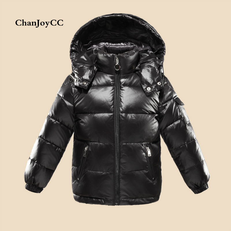 Winter Down Jacket Parka For Children Coats 90% White Duck down jackets Girls Boys Warm Clothing Snow Wear Kids Outerwear new 2017 russia winter boys clothing warm jacket for kids thick coats high quality overalls for boy down