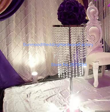 60cm height )Round Tall Trumpet clear acrylic crystal Vases Wedding on water vase centerpieces, shoe vase centerpieces, glass beads for centerpieces, table decorations centerpieces, small vase centerpieces, trumpet vase centerpieces, vase fillers for centerpieces, christmas centerpieces,