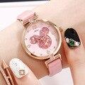 Новые оригинальные женские кварцевые часы с Минни-Китти для девушек  модные водонепроницаемые женские часы  женские студенческие часы со с...