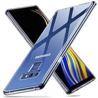 Case Voor Samsung Galaxy Note 9 Note 8 Tpu Silicon Duurzaam Clear Gemonteerd Bumper Soft Case Voor Samsung Galaxy Note 5 4 Back Cover