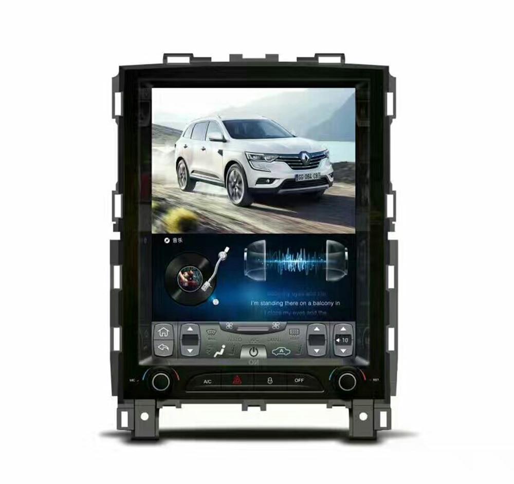 32G rom вертикальный экран android автомобильный gps мультимедийный видео радио плеер в тире для Renault koleos Megane 2016 автомобильный navigton