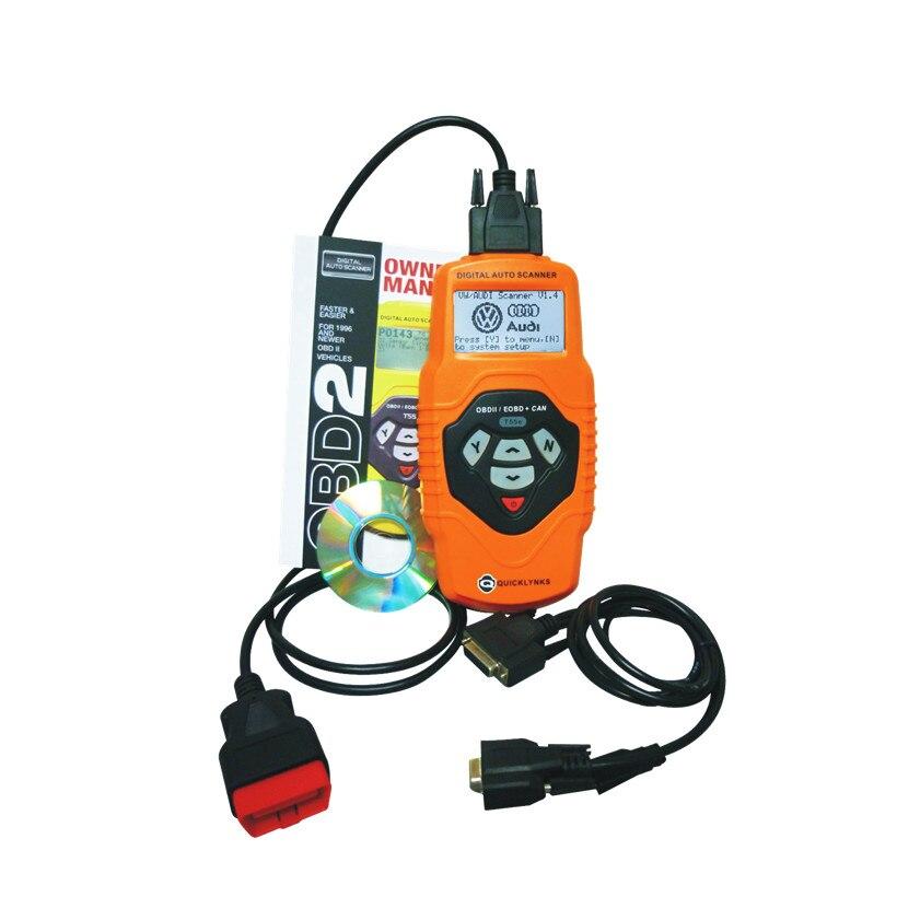 Obdii OBD2 Auto Scanner Lettore di T55 per Le Automobili E Autocarri Leggeri Dal 1990 Supporto Multilingue 78 Sistemi di Strumento di Diagnostica - 3
