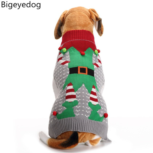 Bigeyedog Christmas Dog Sweater Xmas Pet Outfits Clothing for Dog Cat Knit  Apparel Small Dog Clothes - Bigeyedog Christmas Dog Sweater Xmas Pet Outfits Clothing For Dog