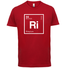 RILEY Periodic Element - Mens T-Shirt Geeky / Chemistry 13 Colours Print T Shirt Short Sleeve Hot Tops Tshirt Homme