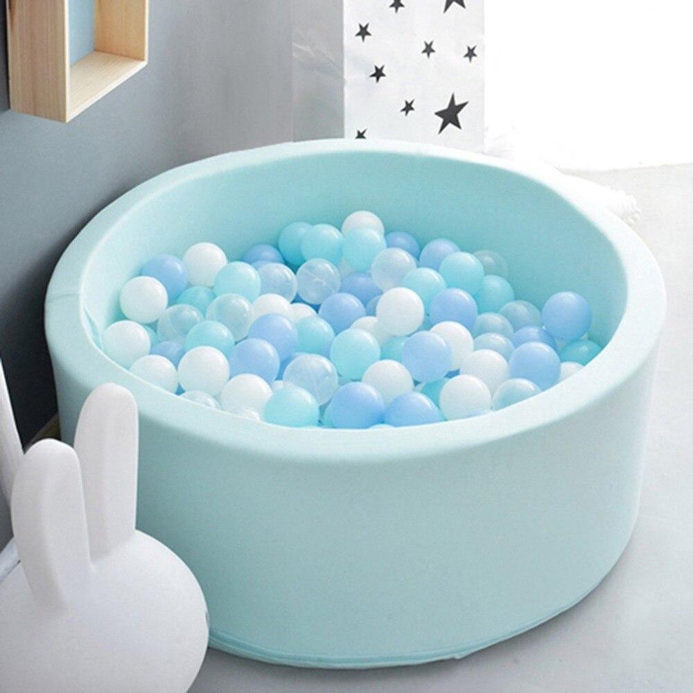 Patio para niños Juego de Pelota de billar bebé piscina seca pelotas para infantes juego de cercado Manege Ocean Ball divertido parque infantil tienda del juguete - 2
