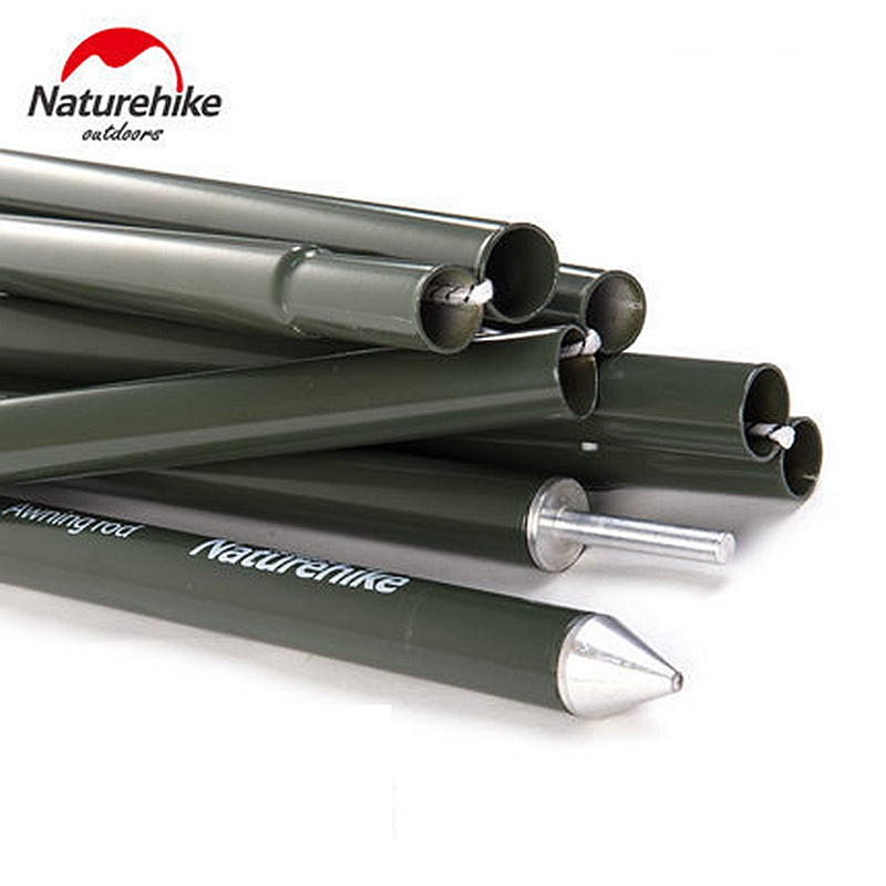 NatureHike C&ing Awning Pole Aluminium Alloy Awning Rod Tent Poles Tar Tarpaulin for Canopy Tent Building Sun Shelter 2pcs-in Tent Accessories from Sports ...  sc 1 st  AliExpress.com & NatureHike Camping Awning Pole Aluminium Alloy Awning Rod Tent ...