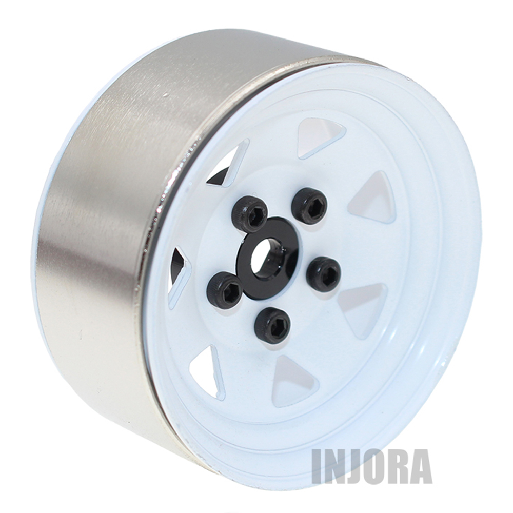4PCS Metal 1 9 Inch BEADLOCK Wheel Rim for 1 10 RC Crawler Traxxas TRX 4
