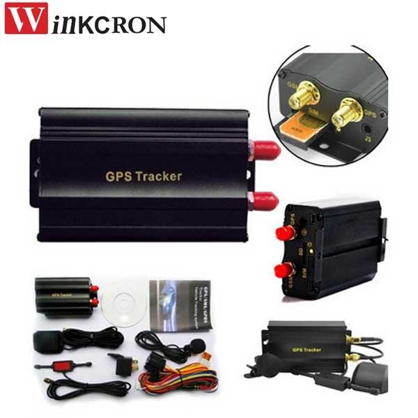 Traqueur de voiture GPS TK103A GSM/GPRS suivi véhicule GPSTracker en temps réel traqueur porte capteur de choc ACC alarme