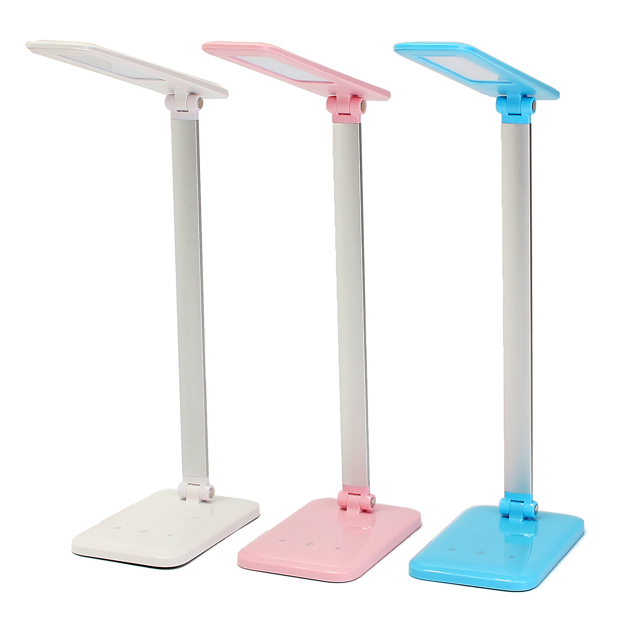 Foldable Adjustable 3 Level USB LED Table Light Smart Touch On Control Desk Lamp Study Reading Book Eye Protect Lights Lamp led table lamp reading lamp led study lamp table lamp eye protection office study desk light modern book lights wall lights