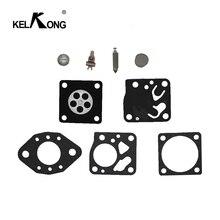 KELKONG 1 Set Carburetor Diaphragm For Tillotson For Stihl 024 024AV MS240 Carb Gasket Needle Kit Trimmer Chainsaw Part