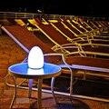 2 шт. из светодиодов яйцо барный стол лампа, Из светодиодов светящийся стол яйцо украшение лёгкие 7 цветов в один D10 * H22cm подарки из светодиодов лампа