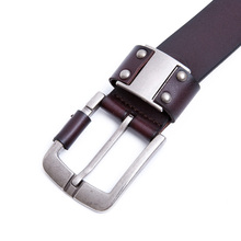 Genuine Leather Belt For Men (Pin Buckle)