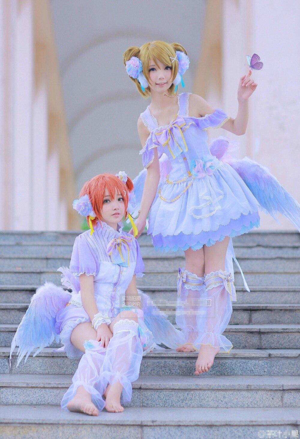 Hat Love Live Circus Awakening Koizumi Hanayo Cosplay Costume Fancy Girl Dress