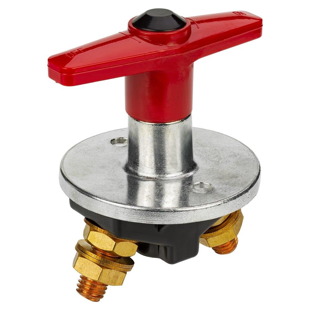 Interrupteur de batterie de voiture 12-60 V 300A interrupteur fixe rotatif à grand courant interrupteur de coupure pour camion 500A max interrupteur de déconnexion de batterie