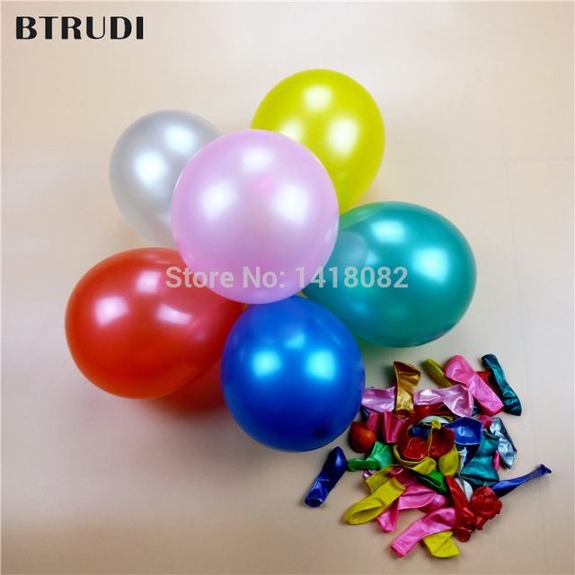 100pcs 5 inches Globes Pearly Small Latex Balloons Birthday Party Decoration Wedding Celebration Ballons Party Supplies
