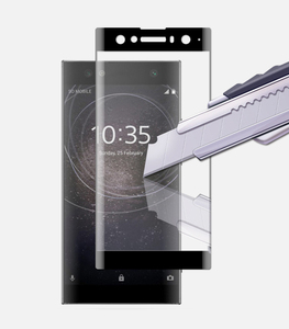 Image 2 - זכוכית מחוסמת מעוגלת 3D עבור Sony Xperia כיסוי מלא 9 H XA2 Ultra מסך חסין פיצוץ סרט מגן Sony XA2 Ultra