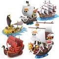 New one piece luffy Shanks Boa Hancock lei Trafalgar navio pirata THOUSAND SUNNY Going Merry montagem modelo de brinquedo DIY venda quente