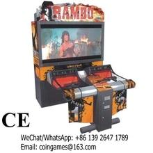 Amusement Equipment Rambo Coin Operated Simulator Gun Shooting Game Machines