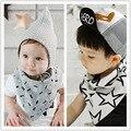 2016 nova recém-nascido puro algodão triângulo babadores crianças Saliva toalha Bibs bandana babadores para bebês crianças de alimentação do bebê à prova d ' água