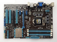Used, ASUS motherboard P8Z77 V LX LGA 1155 DDR3 i3 i5 22/32nm CPU USB3.0 32GB SATA3 VGA HDMI Z77 Desktop motherboard