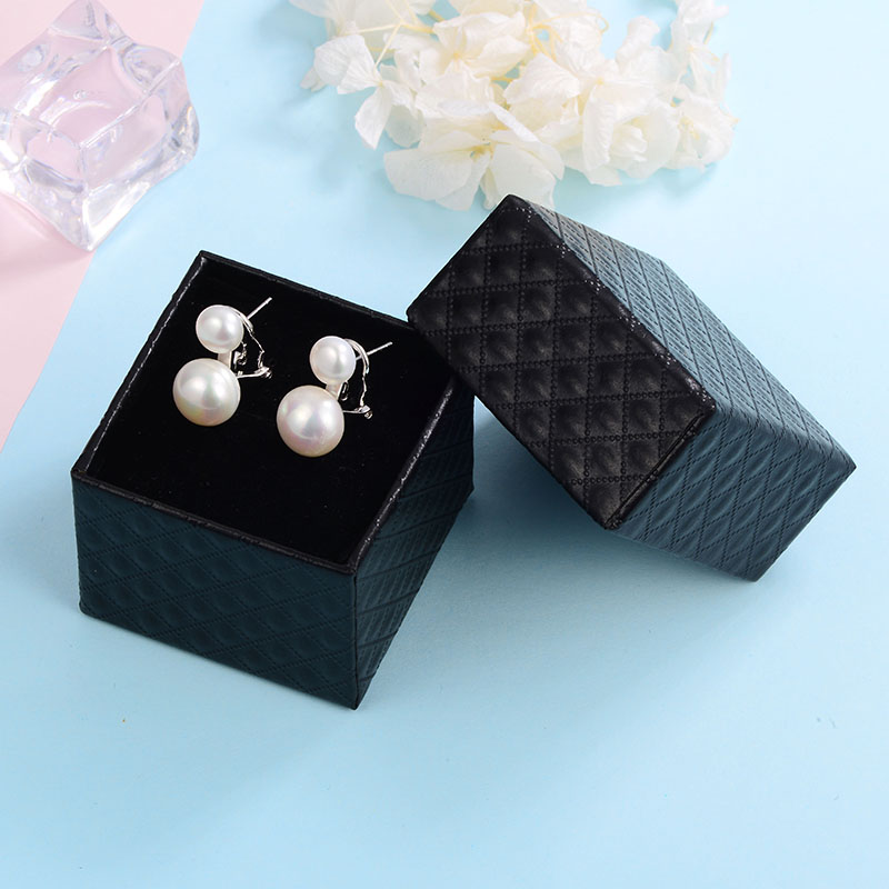 HTB1 0.iacfrK1Rjy1Xdq6yemFXao Hongye Natural Freshwater Pearl Earrings 925 Sterling Silver jewelry Double White Pearl Stud Earring for Women Wedding Gift