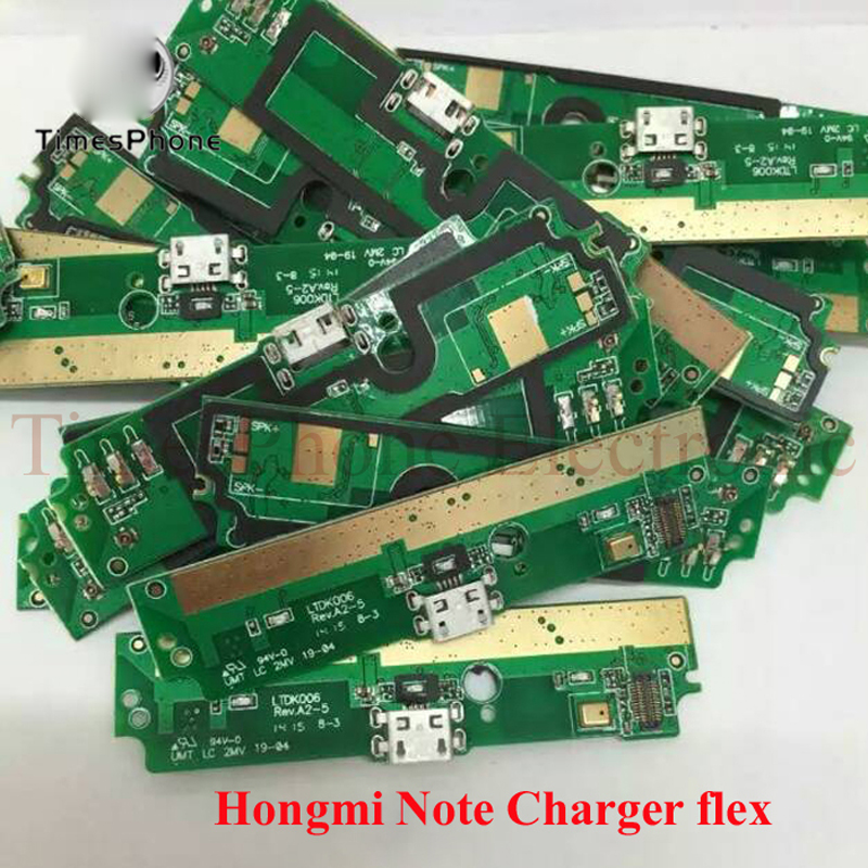 New Charging Calbe Board Charger USB Dock Connector Port Flex For Xiaomi Redmi Note Red Rice Note Hongmi