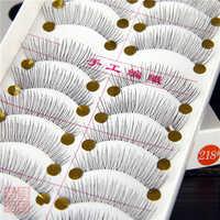 10 paire/ensemble fait à la main Faux Cils qualité Faux Cils Extension maquillage Cils outils boîte à Cils emballage Faux Cils