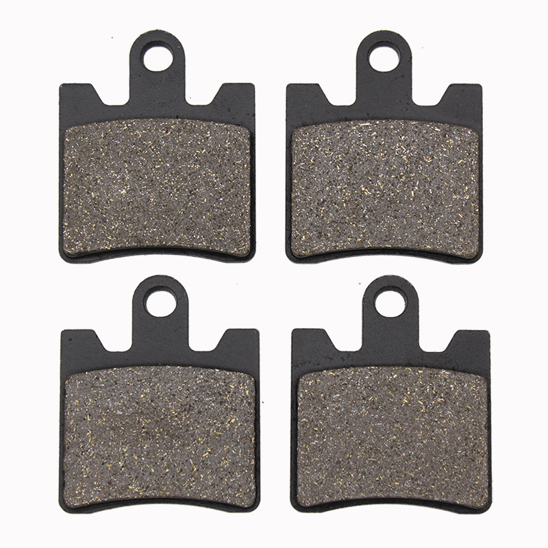 Cyleto Motorcycle Front Brake Pads For YAMAHA FJR 1300 ABS 2006-2016 FJR1300 Electric Shift 2006 2007 2008 2009