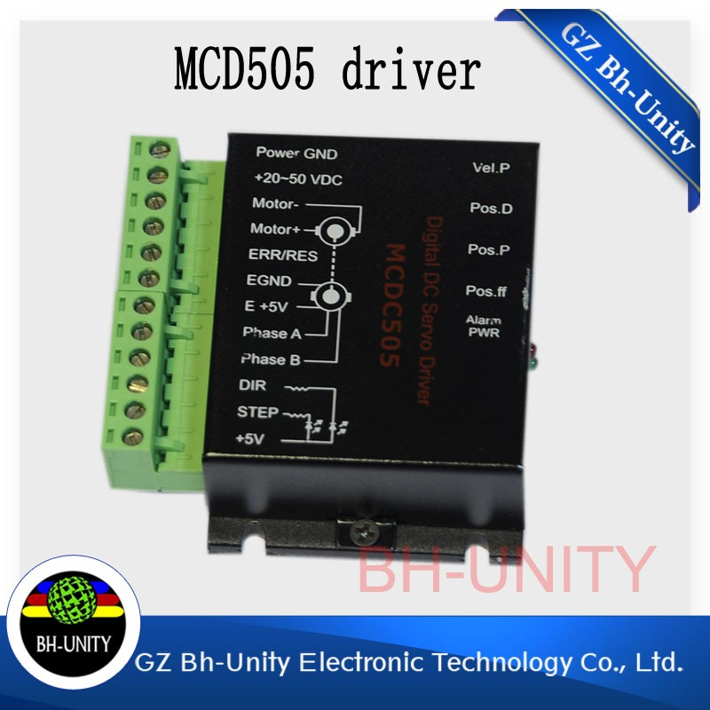 цены  good quality!!Leadshine MCDC 505 Servo Motor Driver for myjet /infiniti /crystaljet Inkjet Printer spare parts for sale