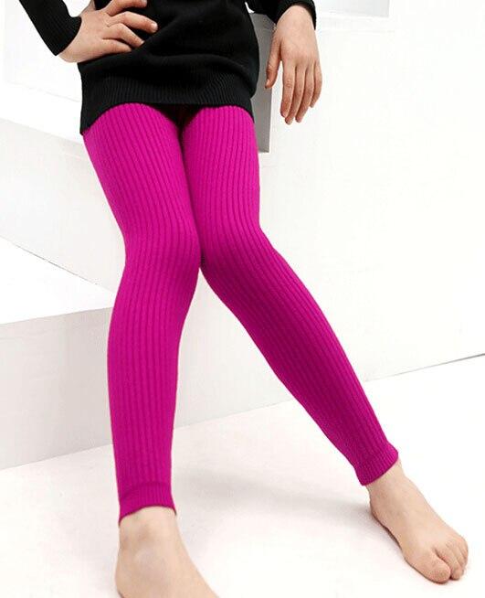 купить Free Shipping Girls Cashmere Wool Thick Winter Pants Base Layer Warm Soft Kids gift Multicolor Pants Girls Leggings for Girls по цене 2913.01 рублей