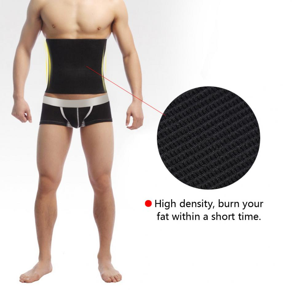Men Slimming Waist Belt Waist Body Shaper Beer Abdomen Shapewear Belly Trainer Belt Corset Compression Girdle Slimming Bandage