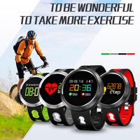 BANGWEI Bluetooth Smart   Digital     Watch   Bracelet Blood Pressure Heart Rate Monitor Fitness Tracker Color screen Smart wristband