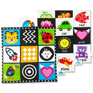 Image 3 - Sách Cho Bé Đầu Giảng Dạy 6 12 Tháng Sách Vải Nhiều Màu Sắc Giáo Dục Đồ Chơi Cho Bé Sơ Sinh Với Âm Thanh Giấy