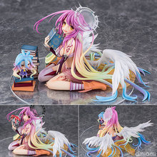 лучшая цена NEW hot 15cm NO GAME NO LIFE Flueqel Jibril Action figure toys doll collection Christmas gift